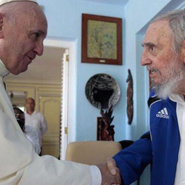 #PapaFrancesco incontra #FidelCastro