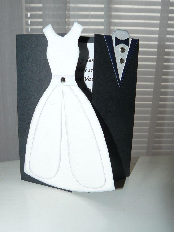 svatební gratulace - weding card