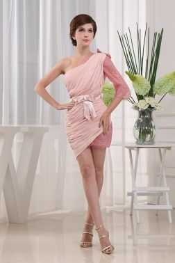 pink cocktail party dress