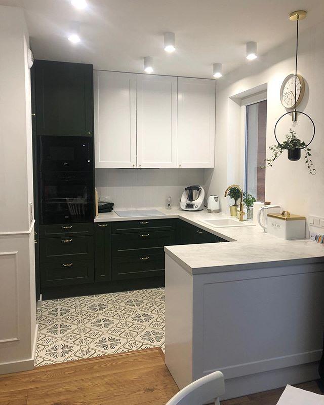 Pin By Szafawawa On Projekty Wnetrz Kuchni Home Decor Kitchen Cabinets Decor