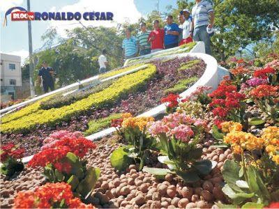 BLOG DO RONALDO CESAR - GARANHUNS - PE: O novo Relógio das Flores de Garanhuns