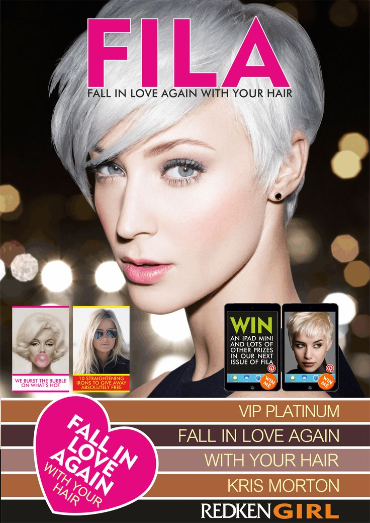 Check out FILA our interactive E Magazine. We have lots of great prizes to give away. Redken Girl