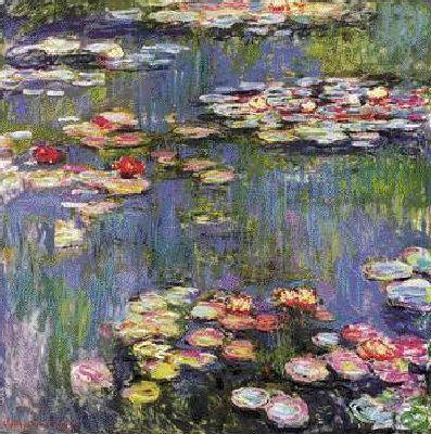 Claude Monet  les #Nympheas  (397×400)