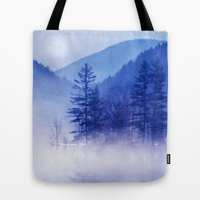 """Our quality crafted Tote Bags are hand sewn in America using durable, yet lightweight, poly poplin fabric. All seams and stress points are double stitched for durability. They are washable, feature original artwork on both sides and a sturdy 1"""" wide cotton webbing strap for comfortably carrying over your shoulder."""