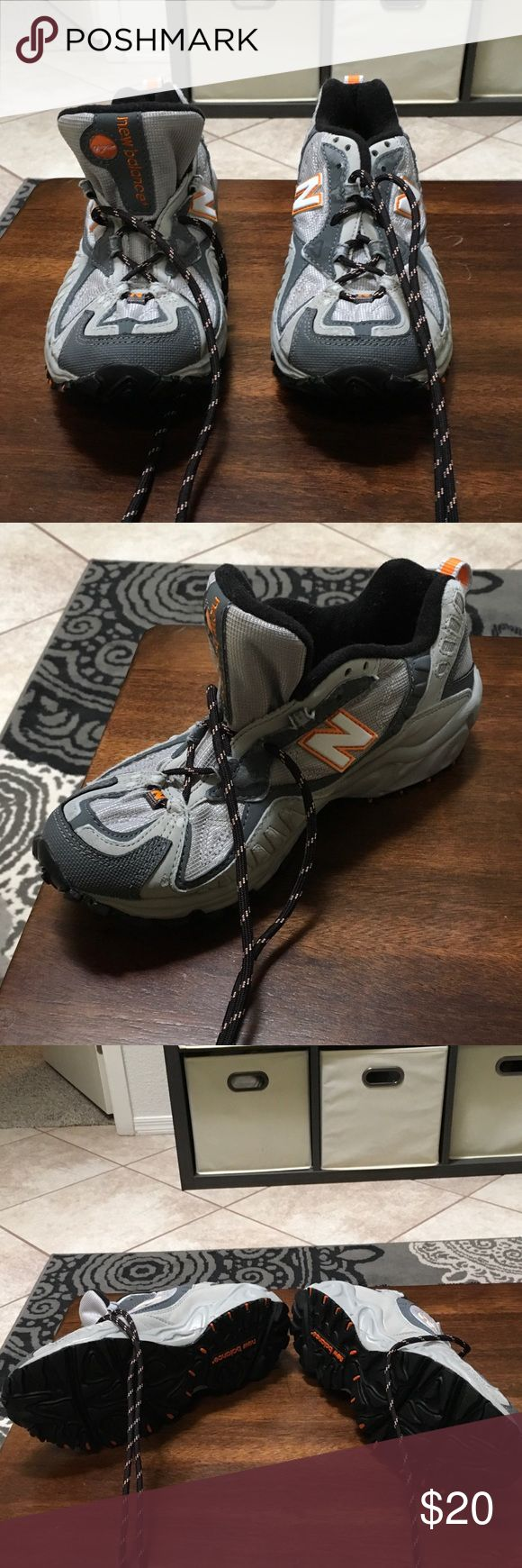 New Balance 470 all terrain running shoes Gray and orange detailing.  In great condition size 6. New Balance Shoes Athletic Shoes
