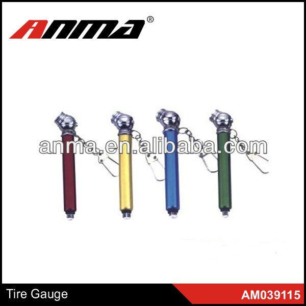 Low price metal nimi car tire gauge tyre gauge pen tire tread depth gauge $2~$3