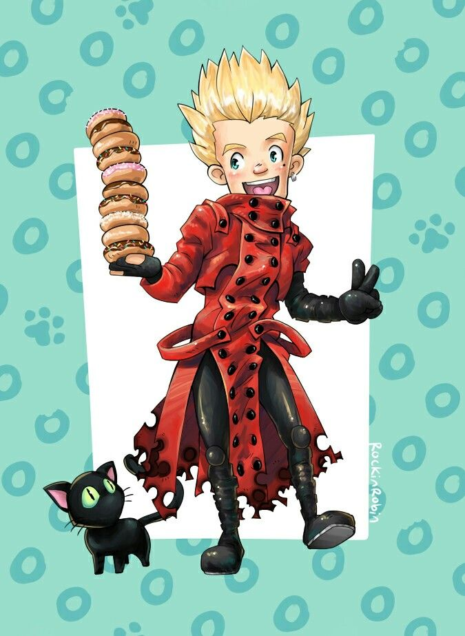 Pin By Mackenzie Stockham On Vash The Stampede Anime Manga Donuts