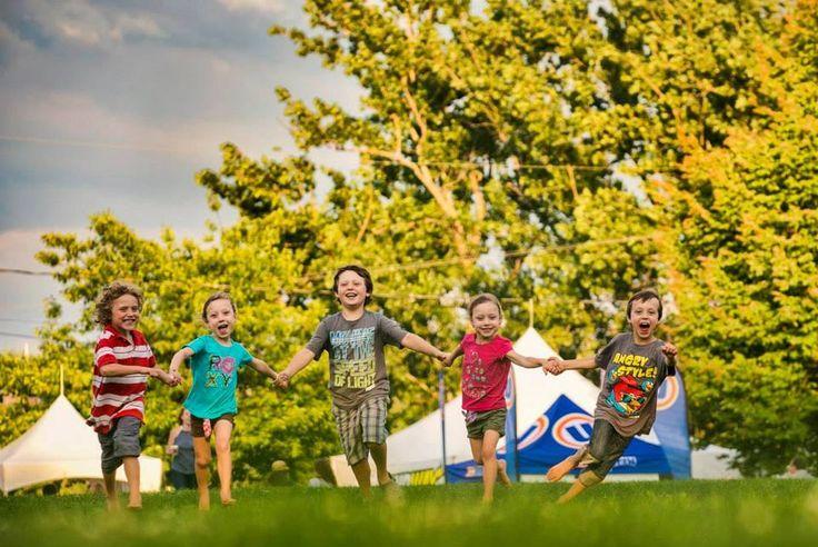 Au Parc Jacques-Cartier, amusez-vous en famille ! Faites un pique-nique et prenez du soleil !