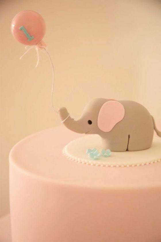 Unbelievably cute little elephant cake @Jess Pearl Liu Rippingale @Christine Ballisty Smythe Maywald
