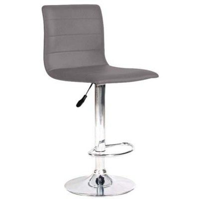 Valencia Faux Leather Swivel Barstool  Features:  15.75 x 19 x 36 – 44.5″ Adjustable Seat Height: 23.5 – 32″H 45cm diameter Base for Stability Available Colors: White or Grey