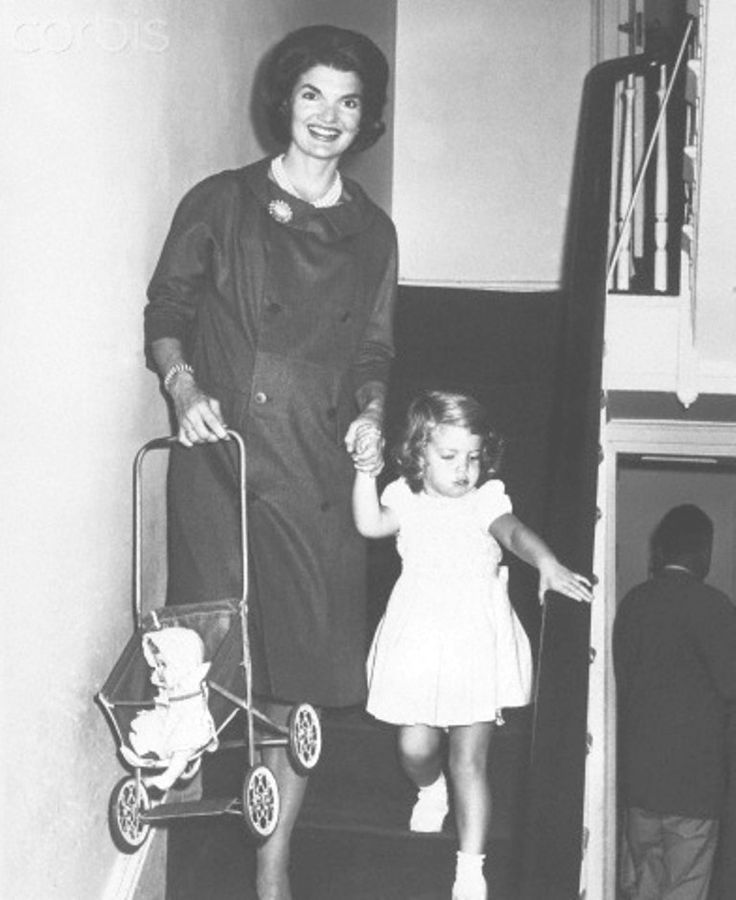 "Jacqueline Kennedy With Caroline Kennedy Jacqueline Kennedy, wife of the Democratic presidential nominee John F. Kennedy, walks with three-year-old daughter Caroline in their house. Later that day, the Kennedys would be interviewed on a CBS program, ""Person to Person"".  Date Photographed:September 23, 1960.❤♥❤♥❤    http://en.wikipedia.org/wiki/Caroline_Kennedy      http://en.wikipedia.org/wiki/Jacqueline_Kennedy_Onassis"
