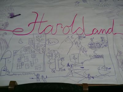 Harold and the Purple Crayon activities - Joyful Socks Mom