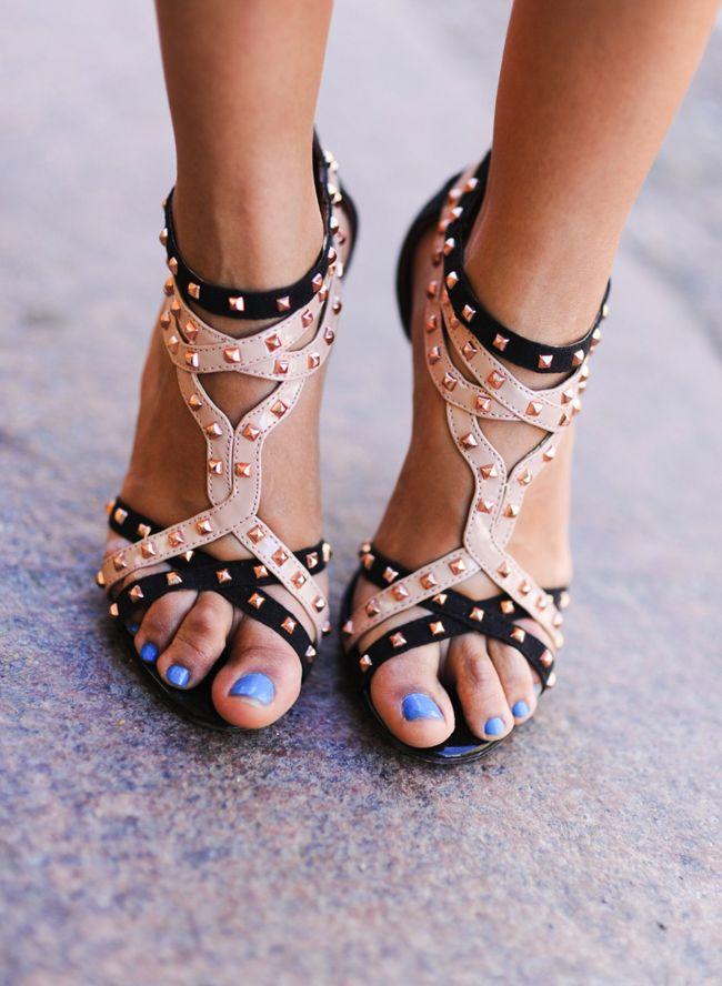 studded heels ♥ love ittt
