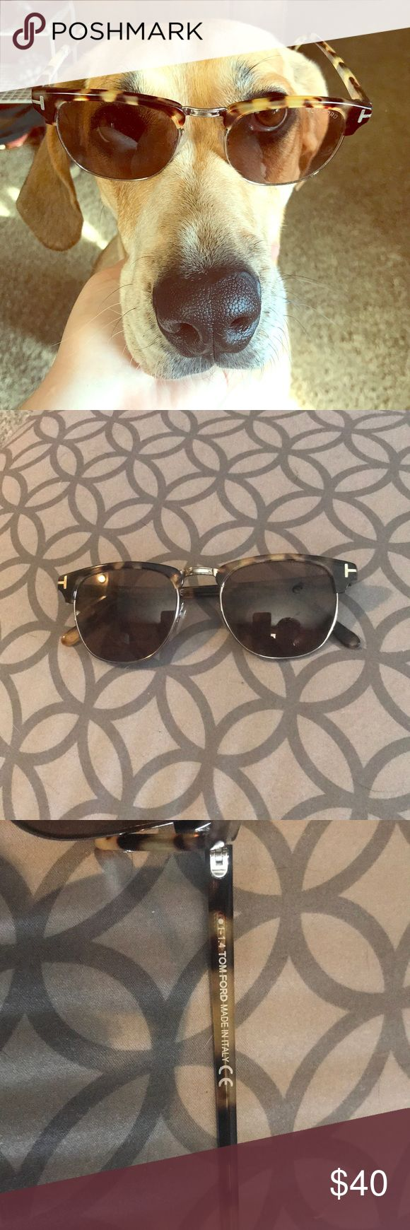 Tom Ford tortoiseshell sunglasses Tortoiseshell browline sunglasses. unworn, in new condition Tom Ford Accessories Sunglasses
