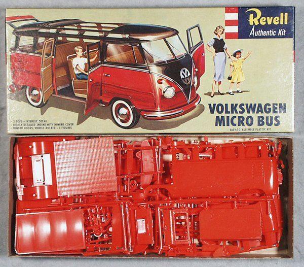 Revell Volkswagen Micro Bus Model Kit