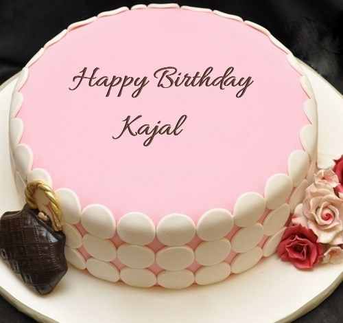 Happy Birthday Kajal Cake Images Wishes Quotes Sms