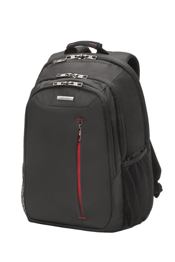 Рюкзак для ноутбука Guardit Коллекция Samsonite GuardIT — это сумки для ноутбуков, оптимальные по соотношению цены и качества. Все модели представлены в черном цвете с контрастными красными акцентами. Сумки от GuardIT обеспечивают полную сохранность гаджетов, при этом в допо
