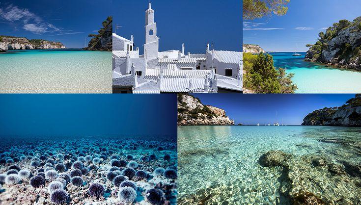 Minorque plus belle île au monde Baléares plage paradisiaque sable fin crique sauvage http://www.vogue.fr/voyages/hot-spots/diaporama/les-plus-belles-les-du-monde/21391#les-plus-belles-les-du-monde-6