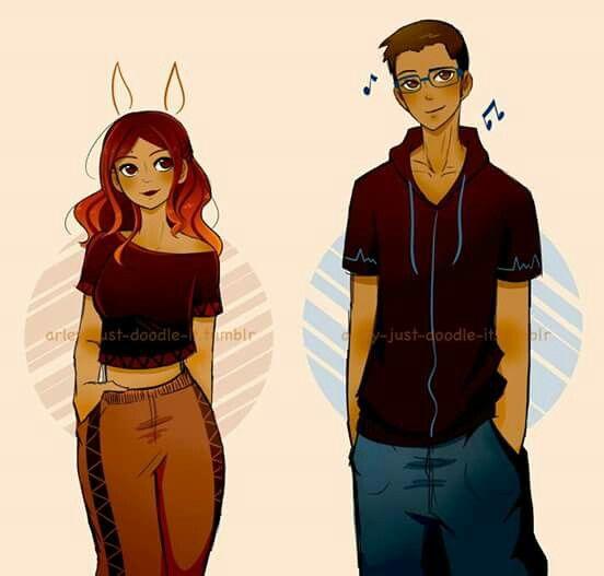 Nino and Alya