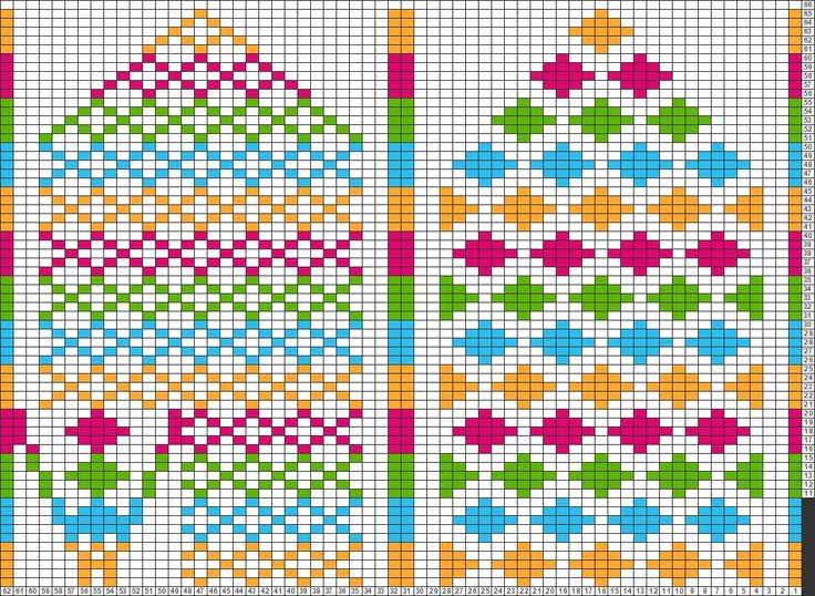 Tricksy Knitter Charts: Arne og Carlos vott by Tamara