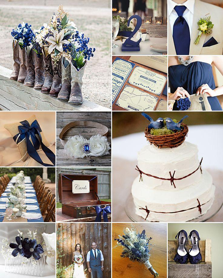 25 Sweet And Romantic Rustic Barn Wedding Decoration Ideas: Best 25+ Navy Rustic Wedding Ideas On Pinterest
