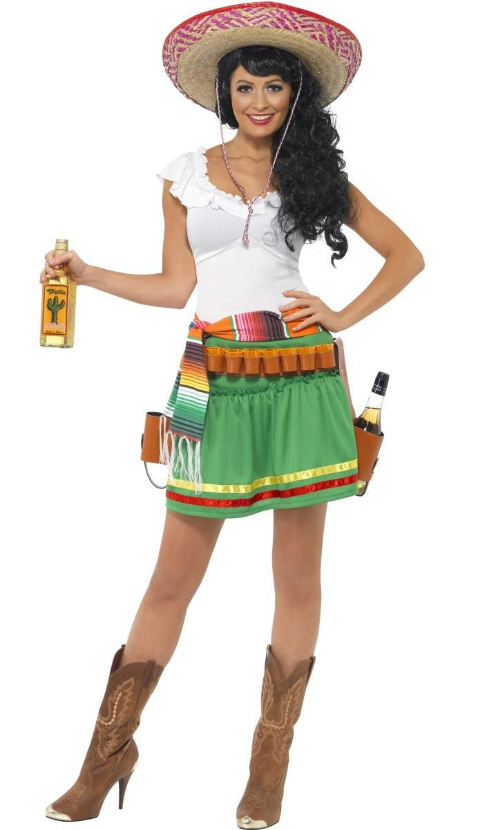 "<p>It's always Tequila time with this fun Tequila Shooter <strong>women's Mexican costume</strong> from Smiffy's! This excellent women's Tequila girl costume is perfect for your next <a title=""Mexican Costumes and Accessories"" href=""http://www.heavencostumes.com.au/shop-by/character-themes/mexican-costumes-and-accessories.html"" target=""_self"">Mexican fancy dress</a> party! See below for full description and size details.</p>"