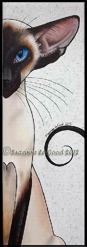Best Siamese artist - Suzanne Le Good.