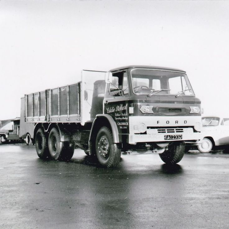 Here we have a 1966 Ford D Series 6 Wheel Tipper. Photo from the Geoff Milne…