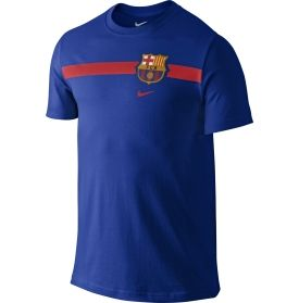 Nike Men's Barcelona Core Crest Royal T-Shirt - Dick's Sporting Goods