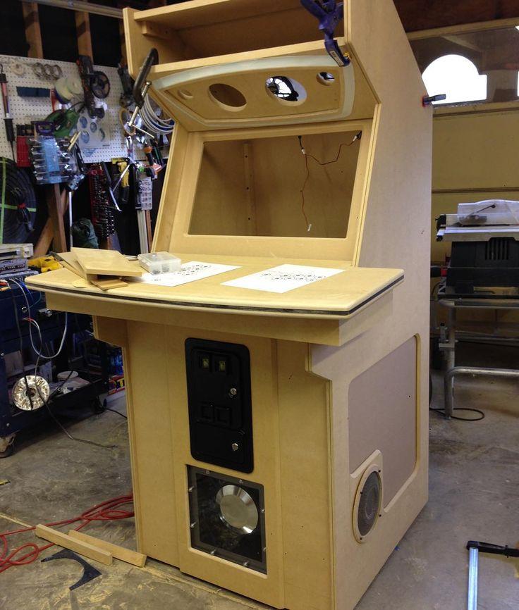 how to build a mame arcade