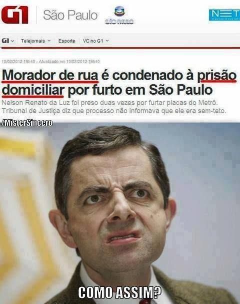 """""""Morador de rua é condenado à prisão domiciliar por furto em São Paulo.""""                                                                                                                                                                                 Mais"""