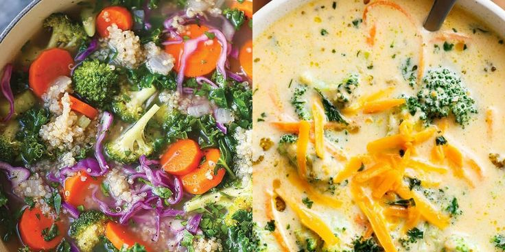 15 Big-Batch Soups to Freeze and Eat All Winter  | SELF