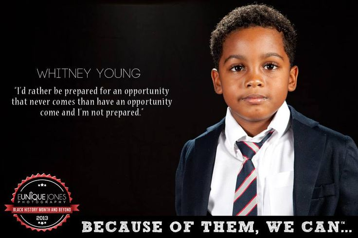 Eunique Jones Gibson's 'Because of Them, We Can' Campaign (Whitney Young)