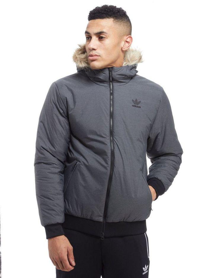 Adidas Trefoil Fur Parka Jacket