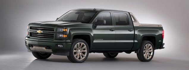 Chevy Avalanche-Style 2015 Chevy Silverado Looks Surprisingly Good