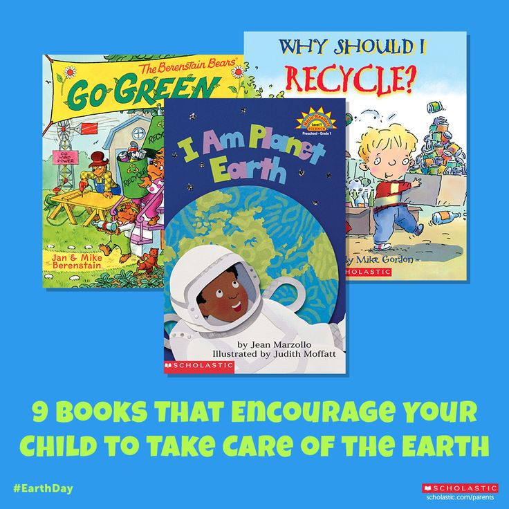 In preparation for Earth Day, help your child save the planet one title at a time.