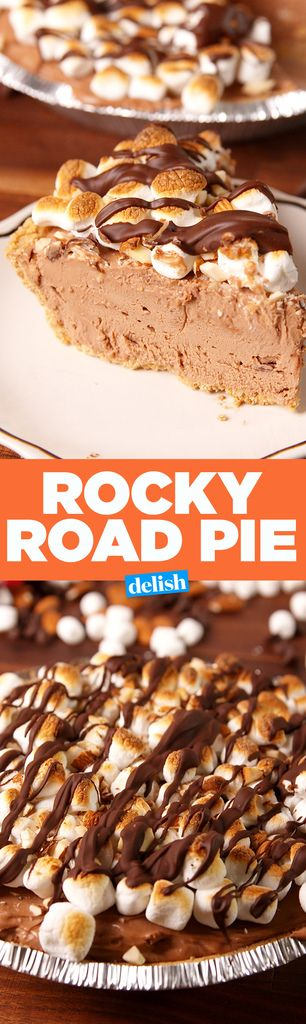 This Rocky Road Pie Is Even Better Than The Ice Cream