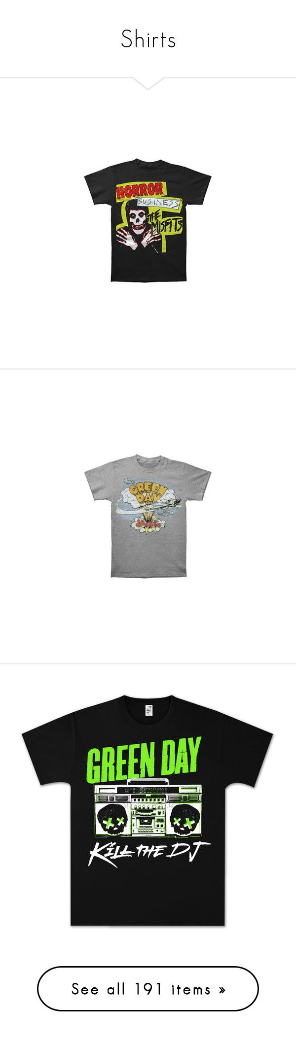 """Shirts"" by prettymuchtrash on Polyvore featuring tops, t-shirts, shirts, band tees, rock t shirts, vintage rock and roll t shirts, vintage shirts, vintage rock t shirts, rock and roll shirts and band shirts"