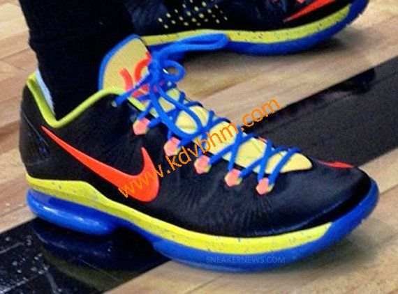 pretty nice 04922 4b36f Online Hot Nike Kevin Durant Cheap sale 5 Elite OKC Away Orange