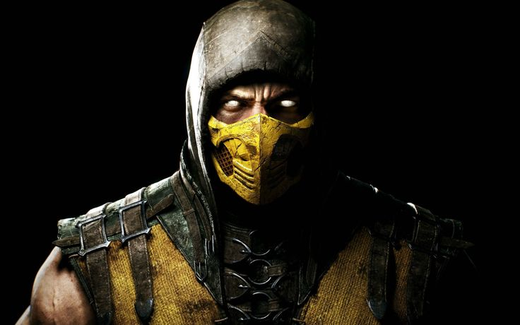 Scorpion in Mortal Kombat X Wide - http://www.cartoonography.com/5276-scorpion-in-mortal-kombat-x-wide.html