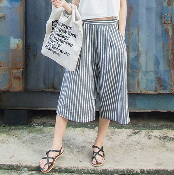 Hilton Strip Flare Pants via shopstyleraiders. Click on the image to see more!