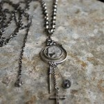 JJOlli...Mary and child stg silver necklace