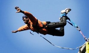 Groupon - Bungee Jump for One or Two from R210 at Bungee Mogale (Up to 45% Off) in Krugersdorp. Groupon deal price: R210