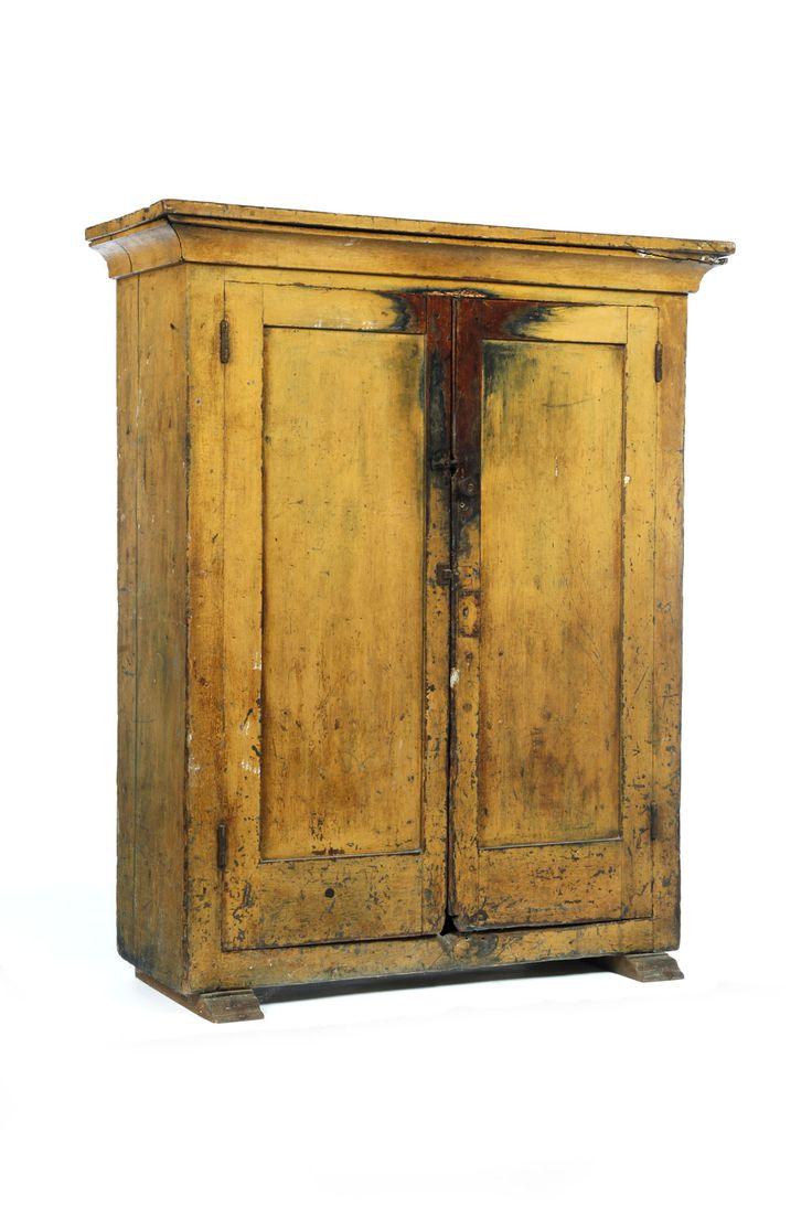 Milk Or Jelly Cupboard American Early 19th Century Pine
