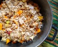 ... and Pear Crumble with Maple Syrup | Recipe | Pears, Mango and Brunch