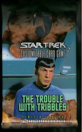 Star Trek CCG The Trouble with Tribbles Expansion Packs