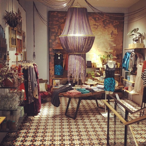 Anthropologie store display