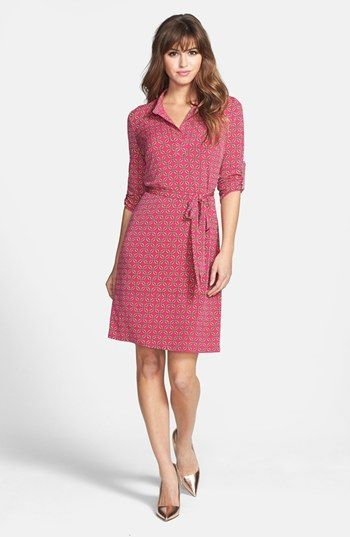 Laundry by Shelli Segal Print Matte Jersey Dress (Regular & Petite) available at #Nordstrom    I like this one!  You'd be so sexy and beautiful in it!