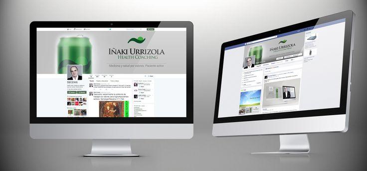 Redes Sociales del Health Coach, Iñaki Urrizola, profesional especializado en medicina y salud por valores.
