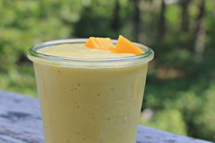 Yogurt Mango Lassi